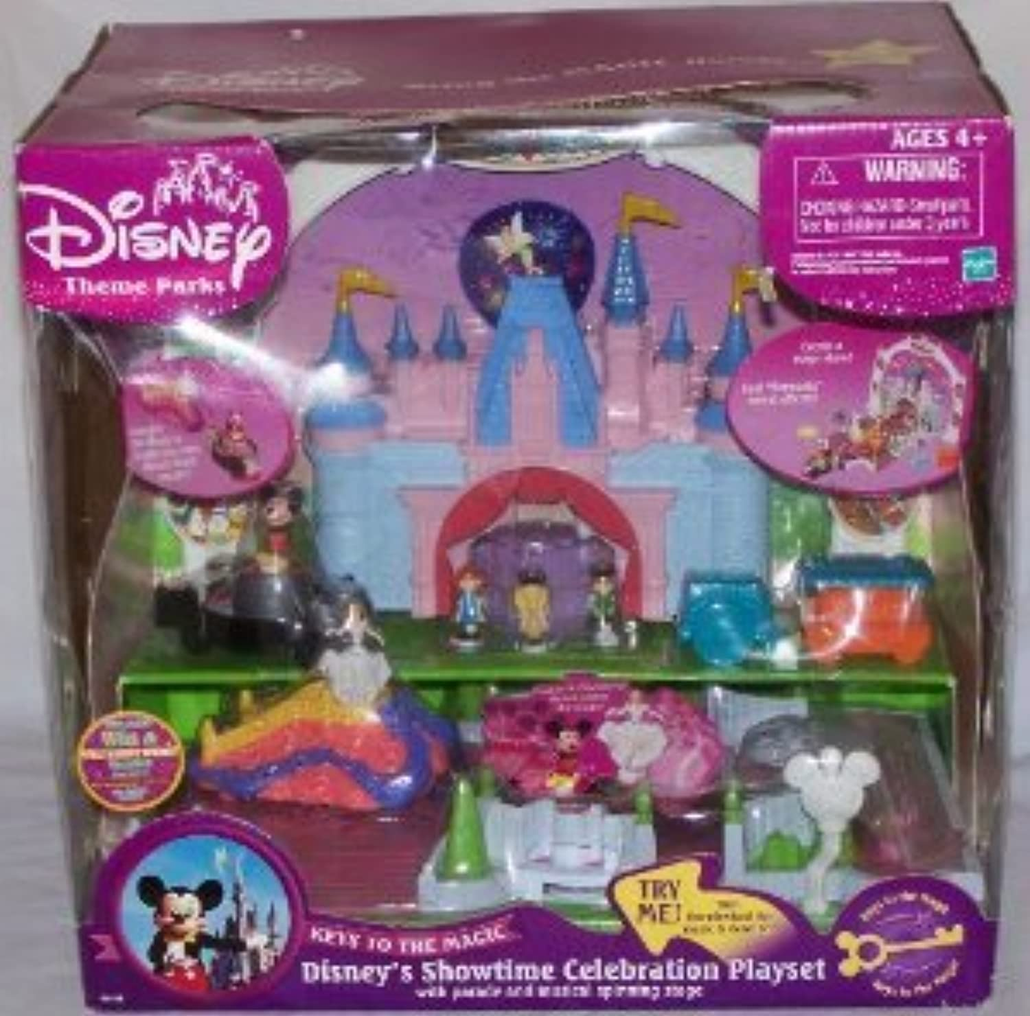 Disney's (ディズニー) Showtime Celebration Playset with Parade & Musical Spinning Stage with Mickey Mouse (ミッキーマウス) and Cinderella(並行輸入)