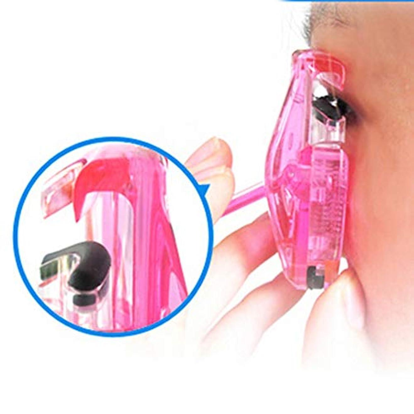 盲目過度に溶かす女性 まつげカーラー 美容キット ツール まつげカーリング クリップ プロフェッショナル ポータブル ランダム