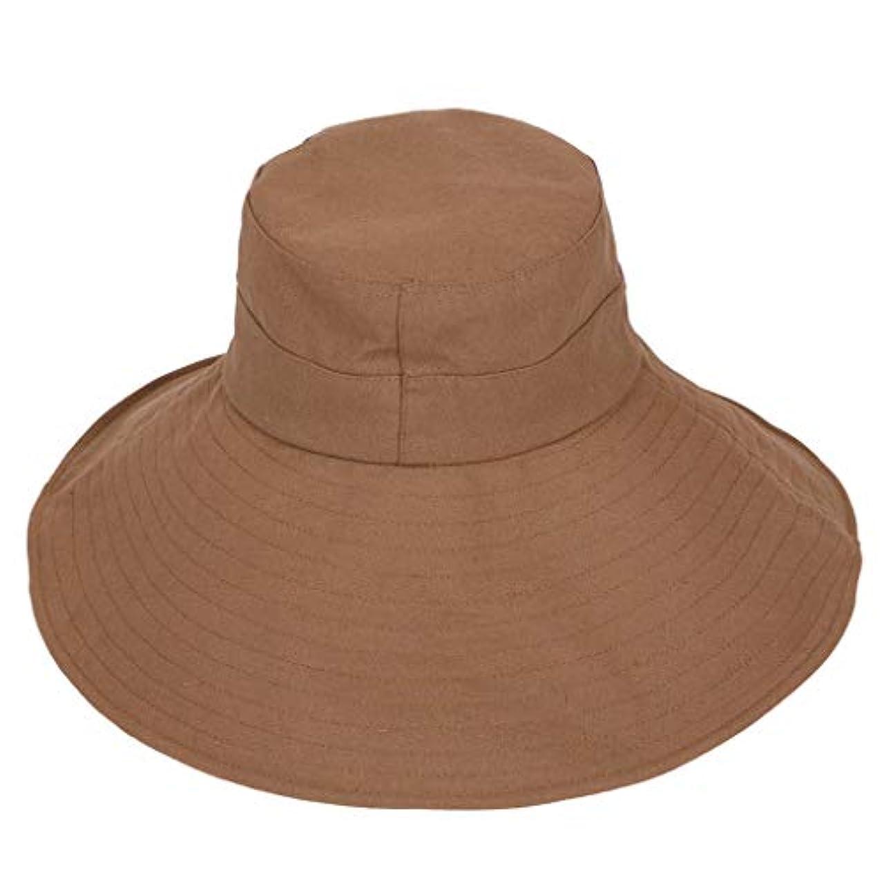 解き明かす海岸社会漁師帽 ROSE ROMAN 帽子 レディース UVカット 帽子 UV帽子 日焼け防止 軽量 熱中症予防 取り外すあご紐 つば広 おしゃれ 可愛い 夏季 海 旅行 無地 ワイルド カジュアル スタイル ファッション シンプル 発送