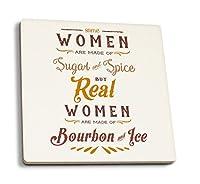 Bourbon and Ice 4 Coaster Set LANT-77336-CT