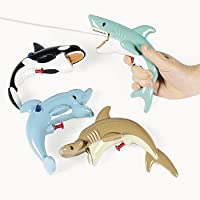 Sea Life Squirt Guns - Games & Activities & Water Toys(assorted pack of 12) [並行輸入品]