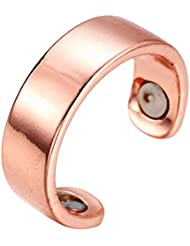 SUPVOX 磁気リング療法指圧抗いびきリング息切れ治療指圧治療ヘルスケア関節炎