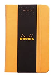 ロディア ノート WEBNOTEBOOK A6 ドット罫 オレンジ cf118568