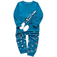 Qootent Baby Outfits Sets Little Boys Pajamas 100% Cotton Pjs Toddler Kids Pj