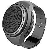 Upgraded Wearable Waterproof Wireless Wrist Portable Sports Bluetooth Speaker Watch with Multi Function MP3 Player & FM Radio