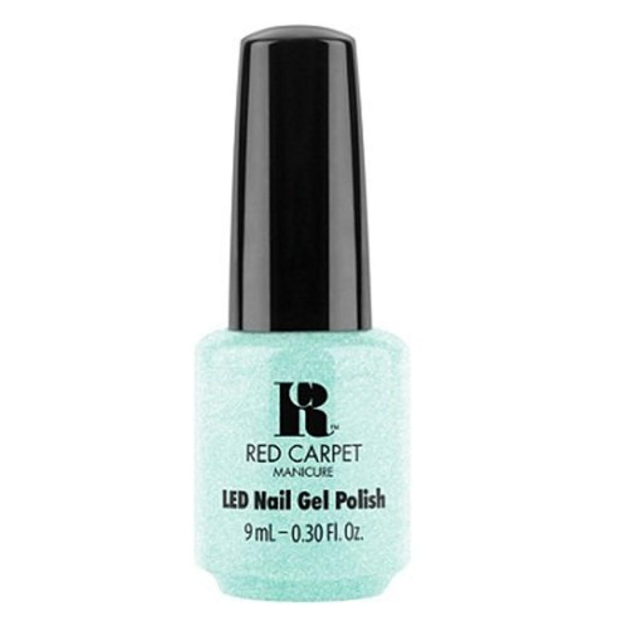 大量服を着る侵入するRed Carpet Manicure - LED Nail Gel Polish - Countdown to Fab - 0.3oz / 9ml
