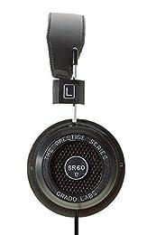 【国内正規品】GRADO SR60e オープン型オーバーヘッドヘッドフォン アメリカ製 新シリーズ 000851