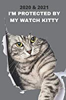 2020 & 2021 Two-Year Weekly Planner For Cat Owner Gift   Funny Tabby With Motivational Quote Appointment Book   Two Year Agenda Notebook: Goal Planning Logbook   Month Calendar: 2 Years of Monthly Plans   Personal Day Log For School, Work or Personal