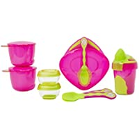 Vital Baby 8 piece Start Weaning Kit - PINK by Vital Baby