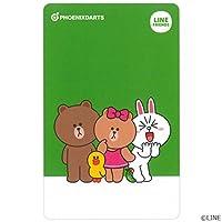 PHOENIX(フェニックス) PHOENicA CARD(フェニカカード) × ラインフレンズ 第2弾 (ダーツアクセサリ フェニックスカード) F,全員
