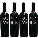 【ワインセット】モンテプルチアーノ・ダブルッツォ カサーレ・ヴェッキオ ファルネーゼ [2015] 750ml 4本セット 赤ワイン フルボディ