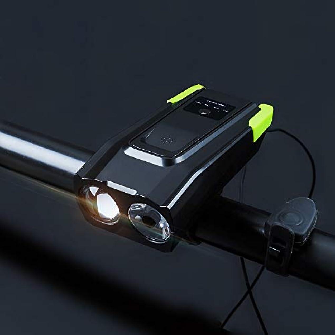理解自殺毎月Craga 自転車用ライト自転車用テールライトスーパーブライト(800ルーメン)充電式自転車用ライトセット(ローバッテリーインジケーター付き)4000mAhリチウムバッテリー防水すべての自転車に適しています取り付けが簡単でクイックリリース(USBケーブルを含む) Professional after sales(売り上げ後の専門家) (Color : Green)