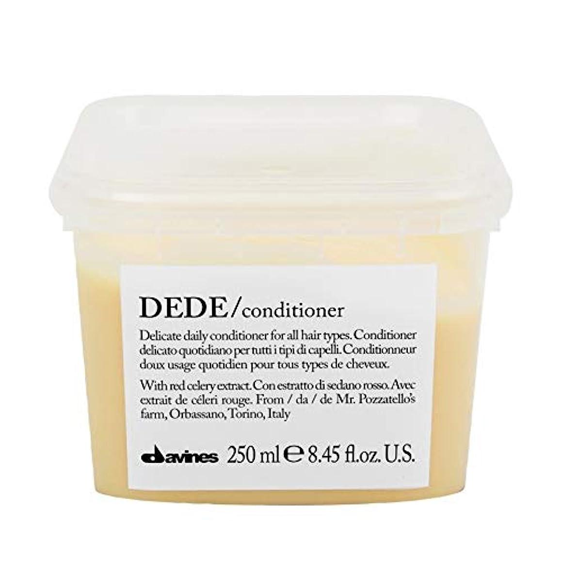 安定した練習したセラー[Davines ] ダヴィネスDedeコンディショナー250Ml - Davines Dede Conditioner 250ml [並行輸入品]