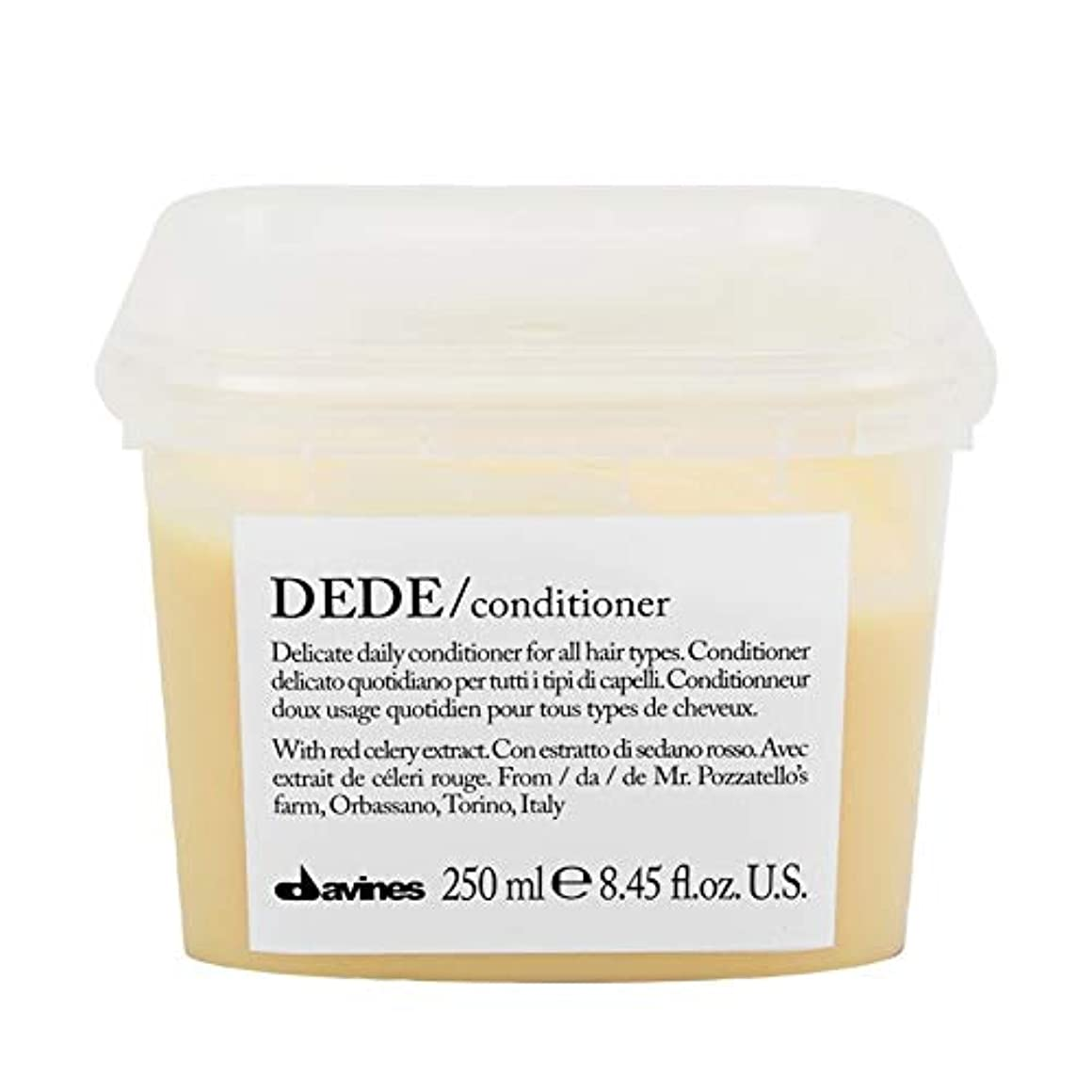 ゴシップ二年生ピース[Davines ] ダヴィネスDedeコンディショナー250Ml - Davines Dede Conditioner 250ml [並行輸入品]