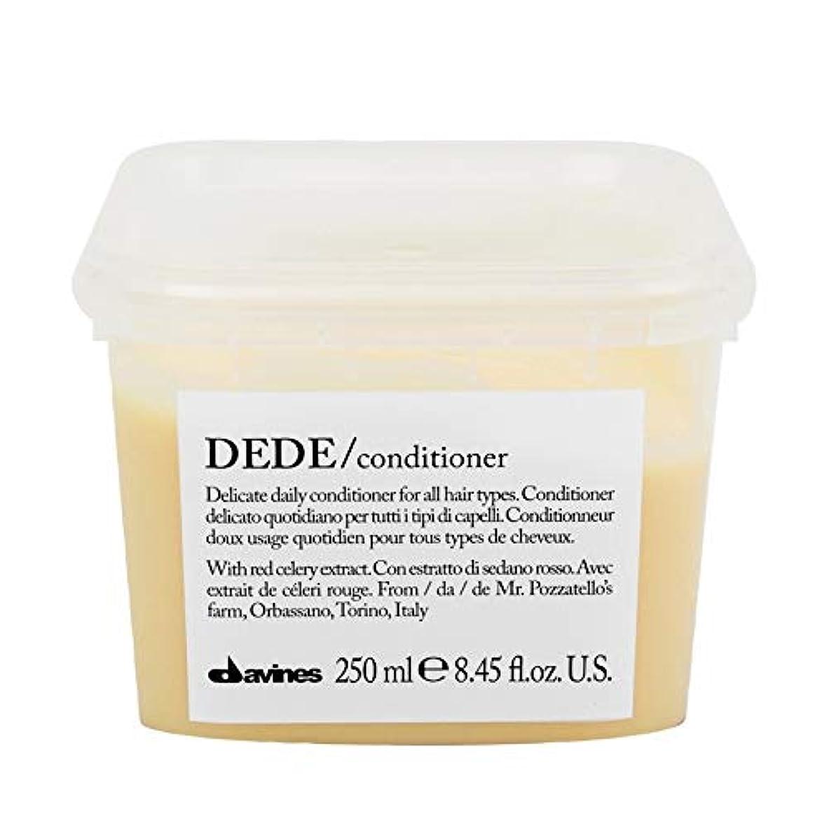 クラッシュうるさいタバコ[Davines ] ダヴィネスDedeコンディショナー250Ml - Davines Dede Conditioner 250ml [並行輸入品]