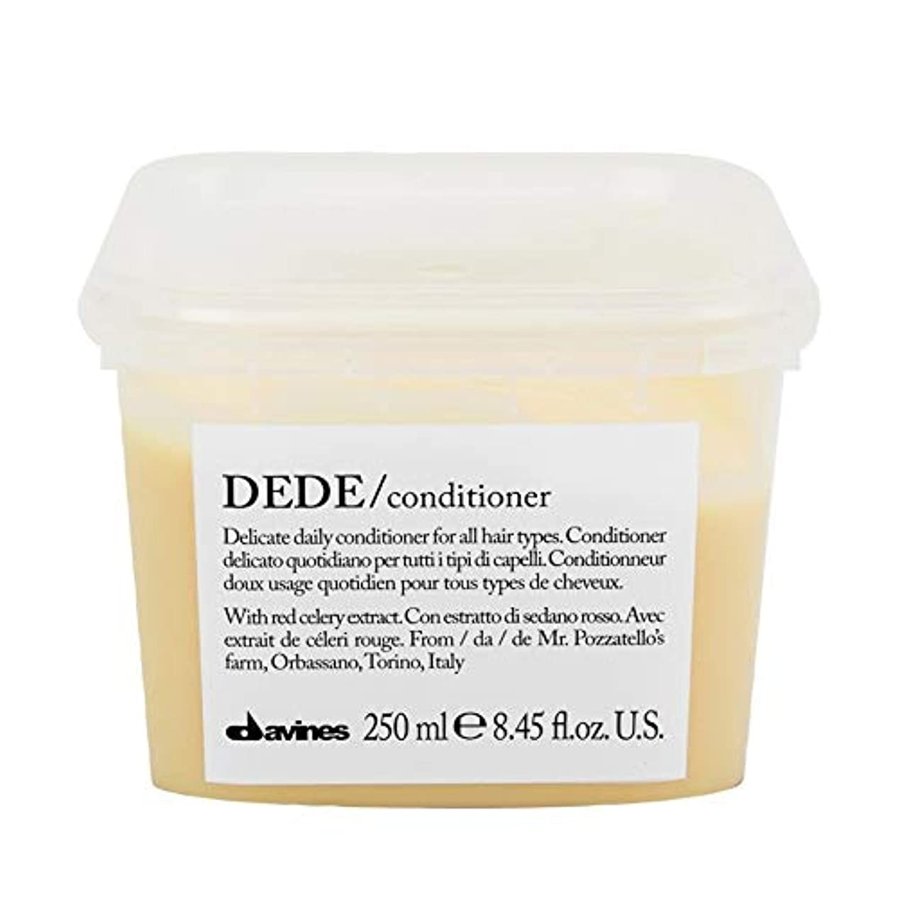 フィールド不道徳り[Davines ] ダヴィネスDedeコンディショナー250Ml - Davines Dede Conditioner 250ml [並行輸入品]