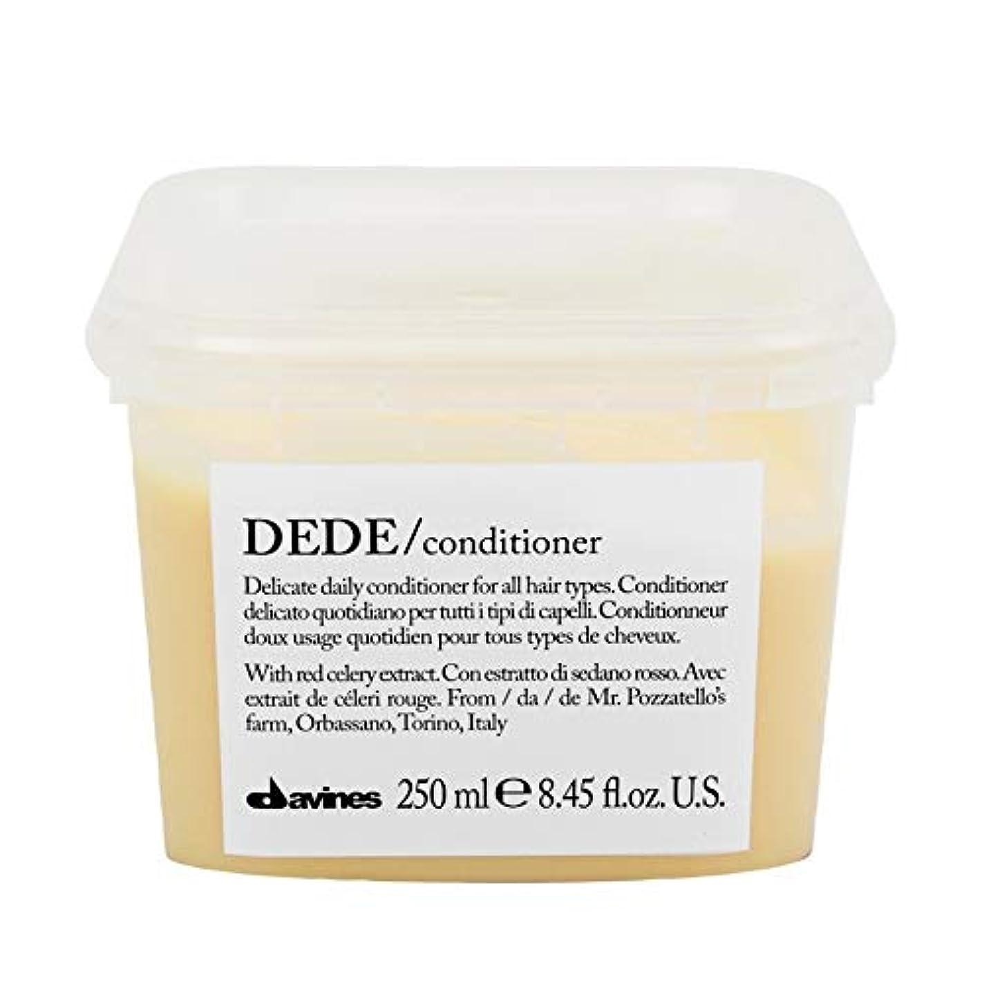 どこにでもパーク生産的[Davines ] ダヴィネスDedeコンディショナー250Ml - Davines Dede Conditioner 250ml [並行輸入品]