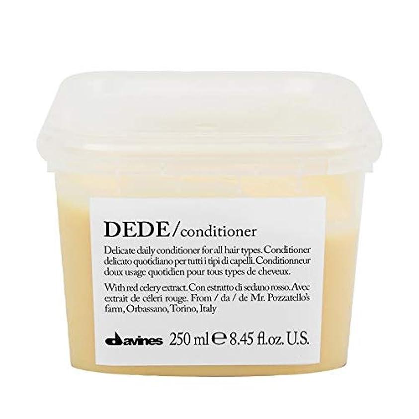 凍った実行犯人[Davines ] ダヴィネスDedeコンディショナー250Ml - Davines Dede Conditioner 250ml [並行輸入品]