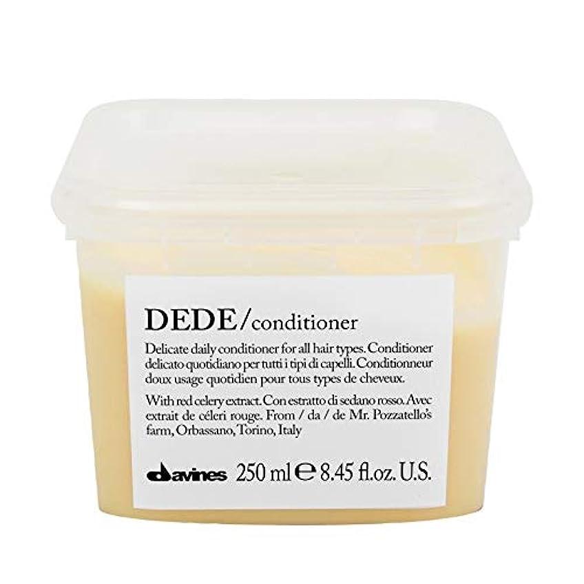 ピルファーナサニエル区多年生[Davines ] ダヴィネスDedeコンディショナー250Ml - Davines Dede Conditioner 250ml [並行輸入品]