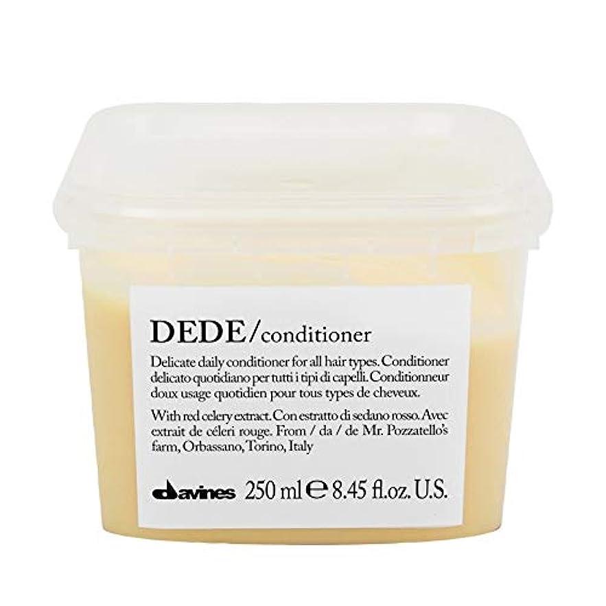 閉塞パネル解決[Davines ] ダヴィネスDedeコンディショナー250Ml - Davines Dede Conditioner 250ml [並行輸入品]
