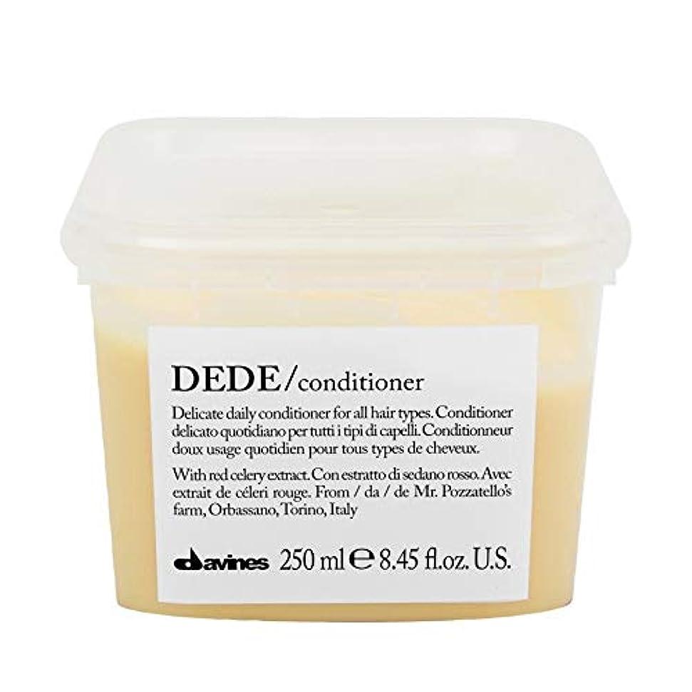 ぼかす試験難破船[Davines ] ダヴィネスDedeコンディショナー250Ml - Davines Dede Conditioner 250ml [並行輸入品]