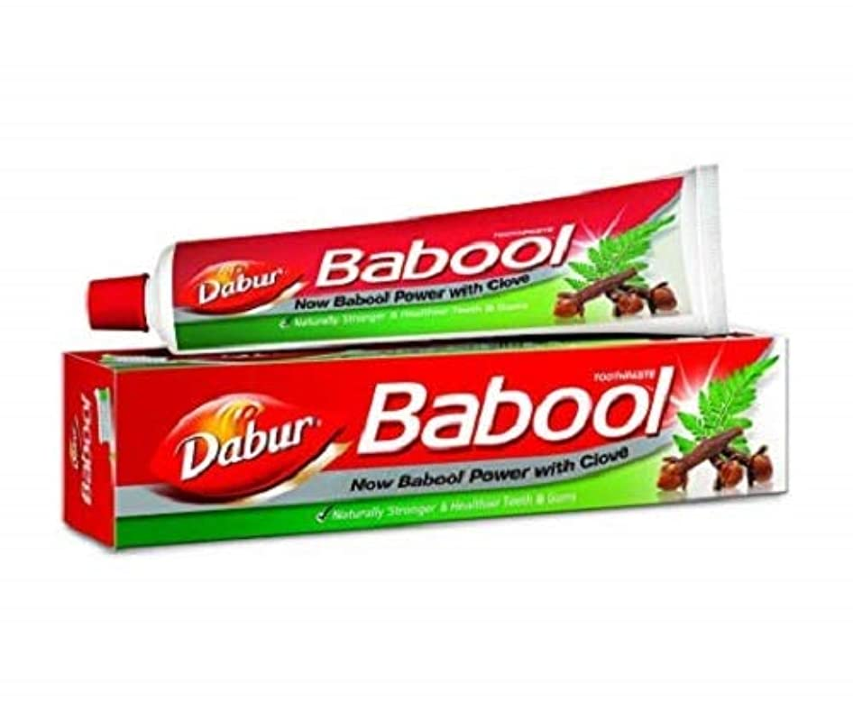 からに変化する六分儀たまにBabool Toothpaste 190g toothpaste by Dabur