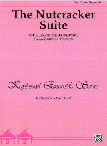 チャイコフスキー: 「くるみ割り人形」組曲 Op.71a/CPPベルウィン社/2台ピアノ4手用編曲...
