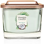 Yankee Candle Elevation 3-Wick Square Candle, Medium, Shore Breeze