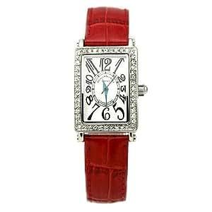 [アレサンドラオーラ]Alessandra Olla 腕時計 スワロフスキー AO-1500-1 RE レディース