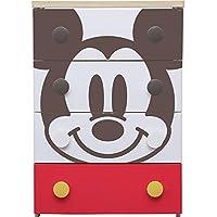 アイリスオーヤマ チェスト キッズ ディズニー ミッキー 4段 幅56×奥行43×高さ81cm NHG-W554