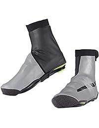 VORCOOL サイクリングシューズカバー オーバーシューズ 冬 防風 防寒 高反射 保温靴カバー サイズS/M