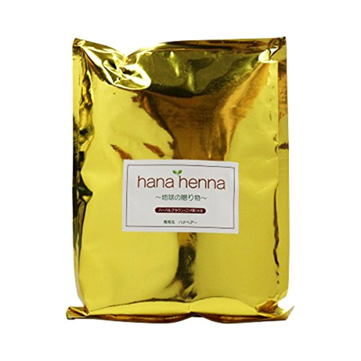 ドライブアソシエイト痛みhanahenna ハーバルブラウン HB(こげ茶) 500g