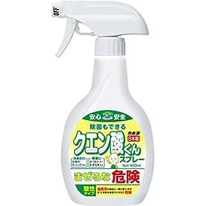 カネヨ石鹸 クエン酸くんスプレー 液体 本体 400ml