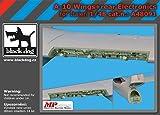 ブラックドッグ 1/48 A-10 主翼&機体後部電子機器 (イタレリ用) プラモデル用パーツ HAUA48091