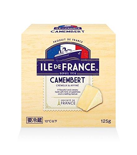 カマンベールチーズ 125g 【冷蔵】イル・ド・フランス(2パック)