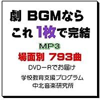 劇 効果音 BGM 793曲 MP3 場面別 著作権フリー 中北利男