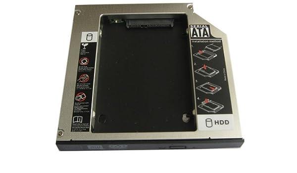 Generic 2nd Hard Drive Hdd Ssd Caddy for Fujitsu S6210 Fujitsu Lifebook 430 665tx 675 420