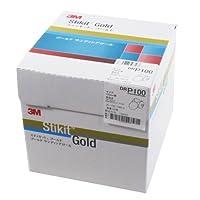 3M スティキットゴールドディスクロール DRGOL125 P100