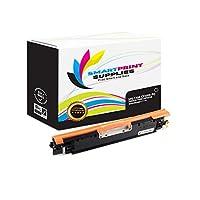 スマート印刷Supplies 130A cf350aプレミアムブラック互換トナーカートリッジ交換HP LaserJet Pro m176m177レーザープリンタ( 1, 300ページ)