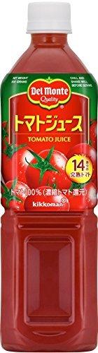 デルモンテ トマトジュース(有塩) 900gペットボトル×12本入×(2ケース)