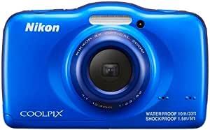 Nikon デジタルカメラ S32 防水 1300万画素 ブルー S32BL