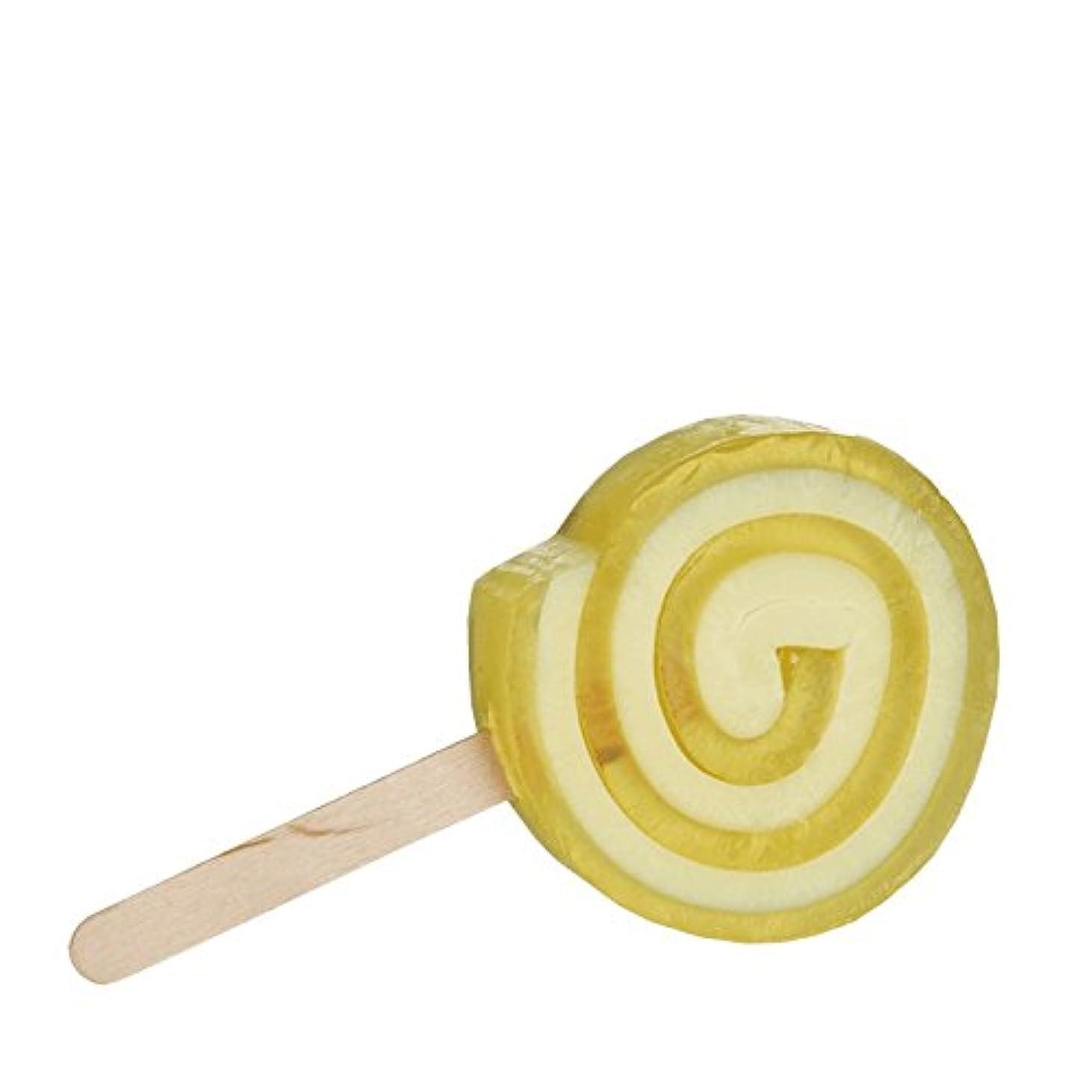 パンフレットマーティンルーサーキングジュニア緑Beauty Kitchen Inspire Me Lucious Lollipop Natural Soap 90g (Pack of 6) - 美しさのキッチンは私にルシアスロリポップ自然石鹸90グラムを鼓舞します...