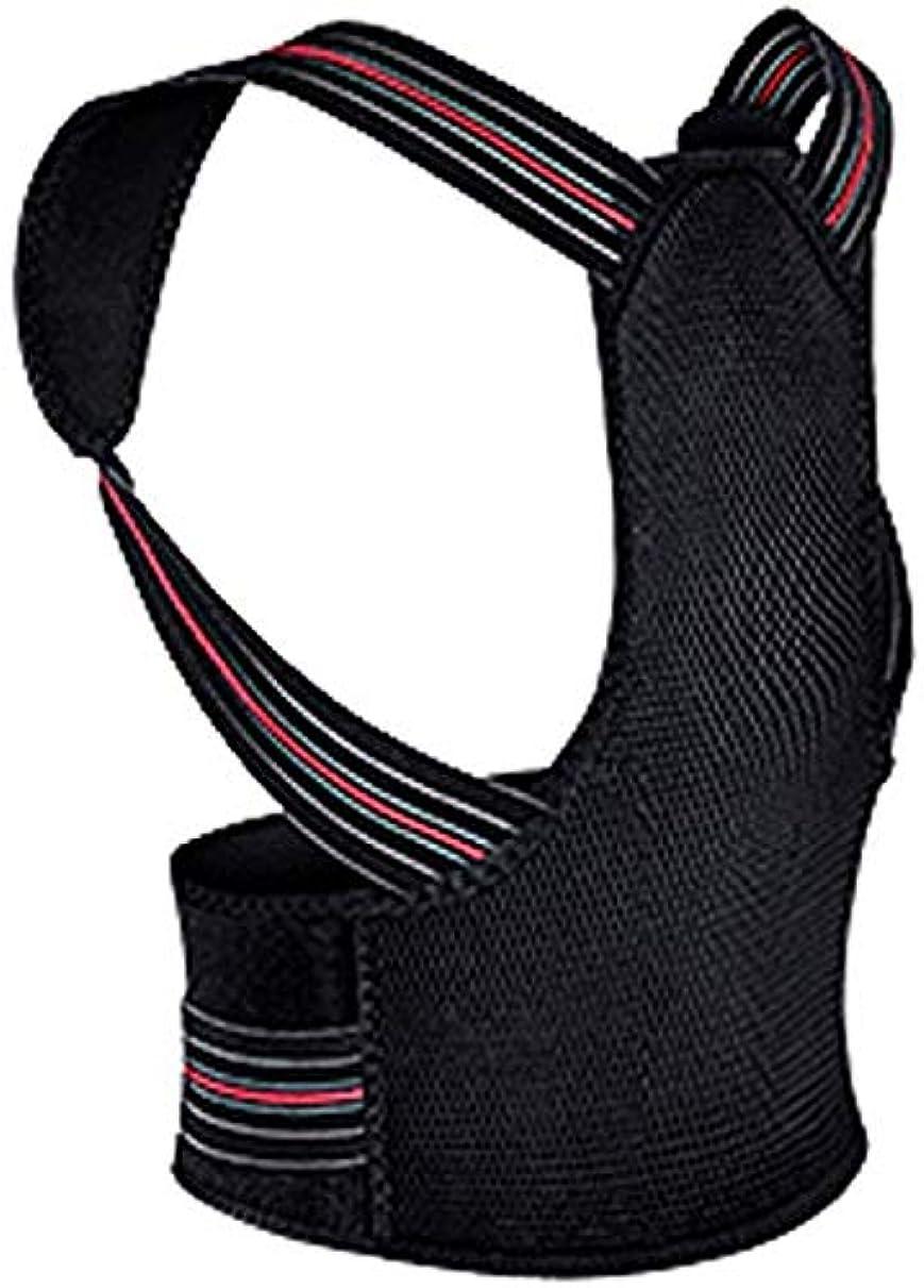 眉アグネスグレイ誓う背もたれ補正器、男性用および女性用アッパーバックストレイテナー、キッズハンチバックショルダーサポートストラップは座位と代役を改善します(色:C、サイズ:XL)