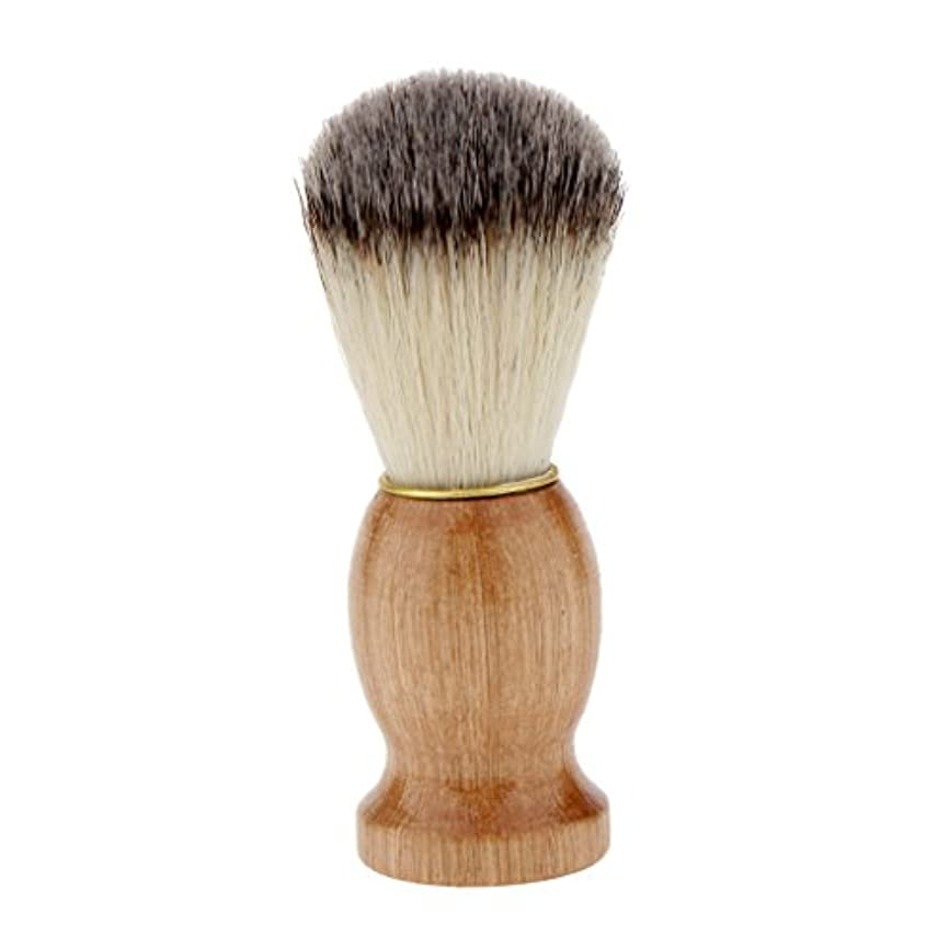 先行するサイズ絡み合い男性ギフト剃毛シェービングブラシプロ理髪店サロン剛毛ブラシウッドハンドルダストクリーニングツール