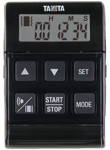 タニタ タイマー 24時間 ブラック TD-370N NBK