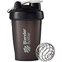 Blender Bottle(ブレンダーボトル) Blender Bottle Classic w/Loop BLACK/BLACK 20オンス(600ml) [並行輸入品]