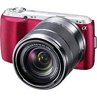 ソニー SONY デジタル一眼カメラ α NEX-C3 ズームレンズキット ピンク NEX-C3K/P