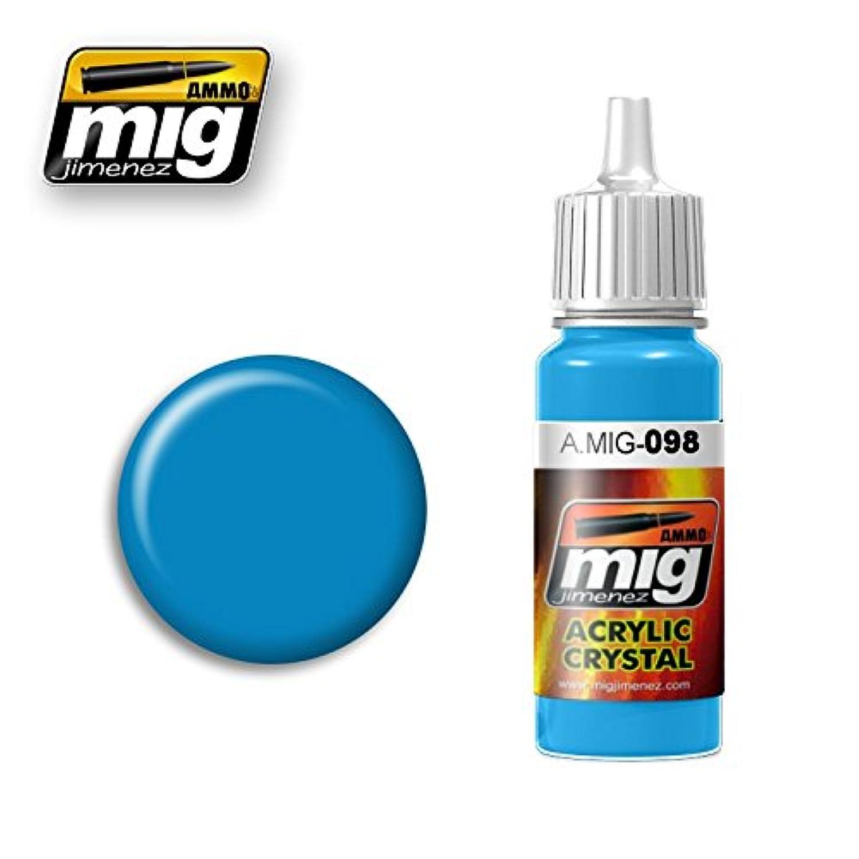 AmmoのMig Jimenezアクリルカラーライトブルー17 ml # 0098