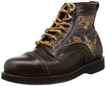 Edgecomb 7953: Dark Brown / Realtree Camo Leather