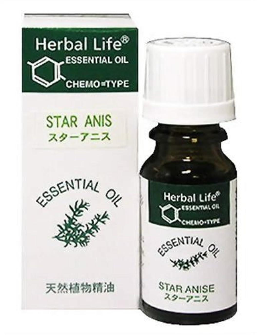 鉄道駅メディア意識的Herbal Life スターアニス 10ml